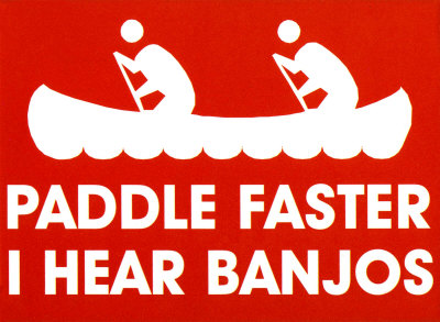 RM2357~Paddle-Faster-I-Hear-Banjos-Posters.jpg
